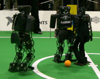 RoboCup German Open 2008: NimbRo vs. FUmanoid
