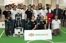 RoboCup German Open 2009: Team NimbRo